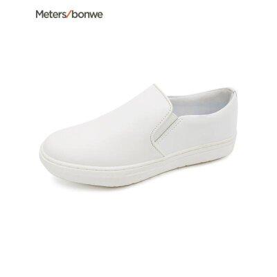 美特斯邦威  女小白鞋