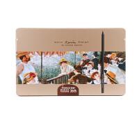 MARCO马可 黑木彩色铅笔24/36/48色油性彩铅铁盒3200TN 36色套装