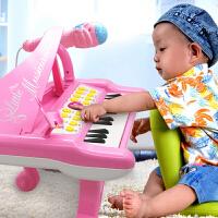 早教琴0音乐2玩具1-3岁宝宝6 电子琴儿童初学女孩婴幼儿童钢琴婴儿