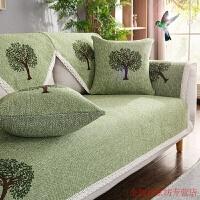 沙发垫套装布艺沙发套罩巾四季坐垫子四季全盖布棉三人全包通用防滑