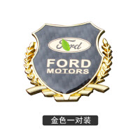 福特翼虎侧标福睿斯蒙迪欧福克斯金属立体标志贴装饰贴车标贴改装 汽车用品