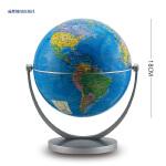 新课标地理学习专用地球仪 高清政区·万向旋转 18cm Fg1832