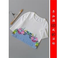 [87-202]新款女士打底衫女装雪纺衫0.25