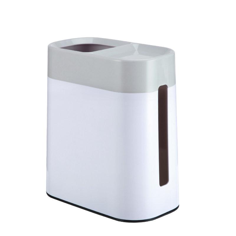 创意桌面垃圾桶纸巾盒客厅家用迷你床上床头小垃圾筒个性卫生桶  购好货上京东!