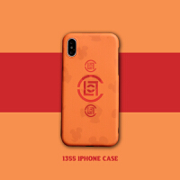 clot苹果X手机壳iPhone7/8plus情侣壳6s全包软壳XMAX男 小6/6s 橙底CLOT标