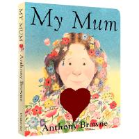 儿童英文原版绘本 My Mum 我的妈妈 纸板书 Anthony Browne 安东尼布朗 低幼宝宝益智启蒙早教英语童