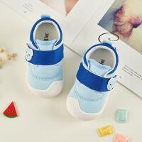 春季女宝宝学步鞋0-1-2岁婴儿鞋软底透气男童机能鞋宝宝鞋子SN2109