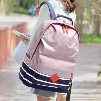 防水尼龙布休闲双肩包电脑旅行包初中生高中学生书包男女背包