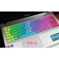 华硕(ASUS) X556UQK键盘膜15.6寸笔记本电脑按键防尘保护贴膜凹凸