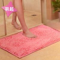 安全地毯进门口清洗吸水韩国加绒长方形门前洗澡间铺垫脚踏垫卫生