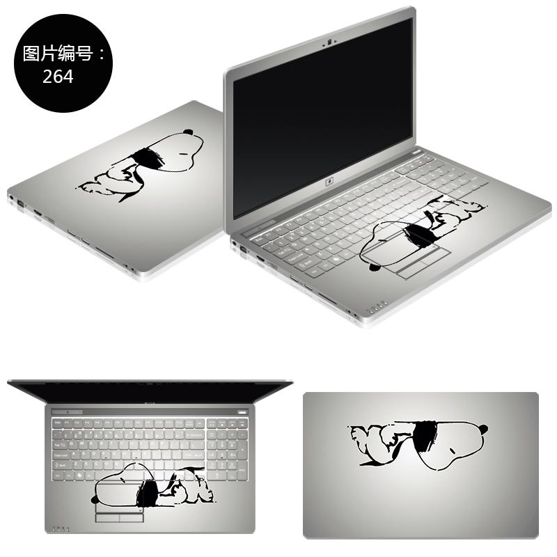 华硕N550 N550J电脑贴纸N550JK贴膜N550JV笔记本保护膜15寸外壳膜 SC-264 ABC三面