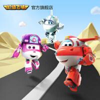 超级飞侠7 旗舰店大号变形机器人乐迪小爱雪儿巴奇儿童玩具男女孩