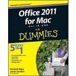 【预订】Office 2011 for Mac All-in-One For Dummies