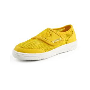比比我春秋季儿童鞋子中性网面韩版网布一脚蹬休闲鞋