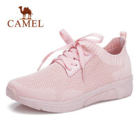 camel 骆驼透气运动鞋女网面跑步鞋夏新款韩版ulzzang原宿百搭鞋子
