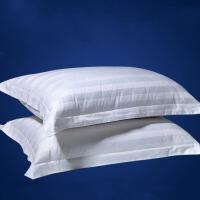 酒店床上用品 白色棉 棉枕套加厚酒店枕头枕套