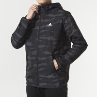 Adidas阿迪达斯 男装 运动休闲连帽防风夹克外套 DW4652
