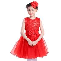 六一儿童节公主裙演出服蓬蓬裙舞蹈服纱裙女童表演服大合唱服装