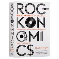 摇滚经济学 英文原版 Rockonomics 奥巴马推荐 音乐产业能教给我们什么关于经济 市场营销 英文版 进口原版英