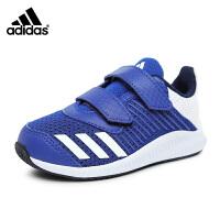 阿迪达斯adidas童鞋17婴幼童跑步鞋宝宝学步鞋轻便防滑训练鞋户外休闲鞋 蓝色(0-4岁可选)  BY2696