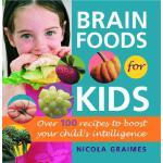 [现货]英文原版 Brain Foods for Kids: 烹饪书籍