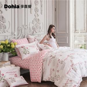 多喜爱MMK家纺田园四件套全棉床上用品欧美风床品套件玛贝卡II