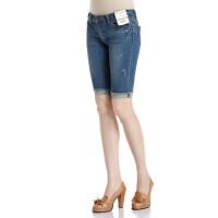 [T102-220]新款女装裤子显瘦牛仔五分裤28