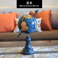 欧式美式地球仪装饰品摆件 创意家居客厅书房书柜办公室桌面摆设