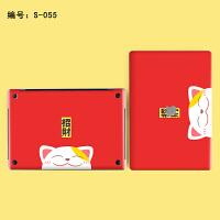 苹果air13电脑贴膜A1465笔记本外壳贴膜macbook配件13pro贴纸卡通SN2