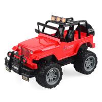 儿童模型玩具遥控车 四通可充电赛车越野攀爬车 电动汽车玩具 1:18