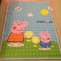 春夏小号全棉爬行地垫加厚宝宝爬爬垫婴儿地毯机洗卧室客厅儿童垫