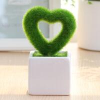 仿真盆栽绿色植物北欧室内家居客厅卧室迷你装饰小假花盆景摆设 不