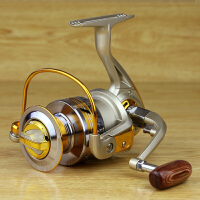 渔轮10轴全金属头纺车轮钓鱼线轮海竿轮渔具矶竿