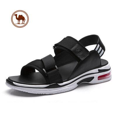 骆驼牌男凉鞋 2018夏新款潮流男士韩版休闲凉鞋 运动气垫男沙滩鞋