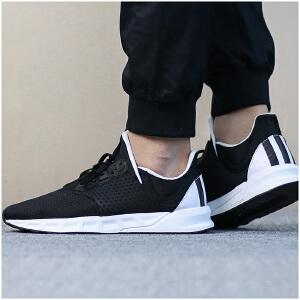 Adidas阿迪达斯 男子黑武士轻便运动跑步鞋 BZ0648