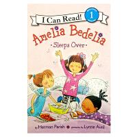 英文原版 Amelia Bedelia Sleeps Over 阿米莉亚・贝迪利亚在外过夜