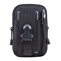 户外迷彩大容量腰包运动战术腰包男6寸大屏手机穿皮带挂包