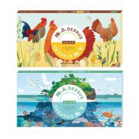 《地上地下》自然景观+动物世界(精装2册)