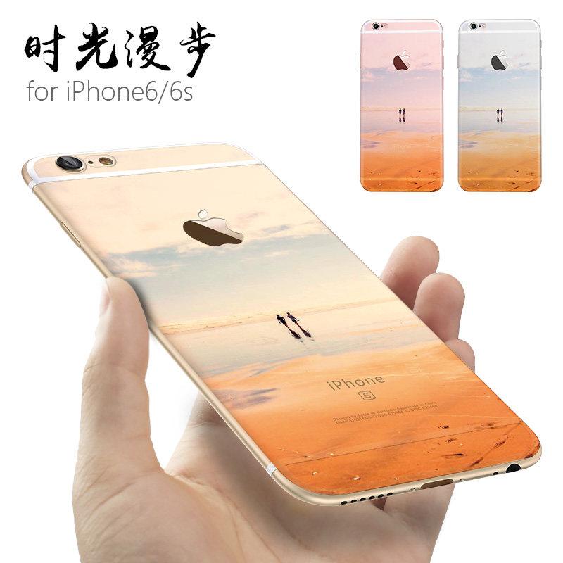 猪年新年苹果6手机壳iphone6s潮款6plus情侣个性创意软硅胶防摔全包边六新款6splus男女 苹果6/6s 时光漫步
