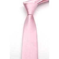 男女学生结婚新伴郎团体5CM韩版细窄领带呔 黑红蓝绿紫纯色