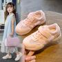 女童鞋子2019新款夏季儿童网鞋透气网面小白鞋男童休闲运动鞋潮