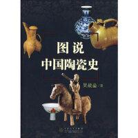 【新书店正版】图说中国陶瓷史 吴战垒 百花文艺出版社 9787530651322