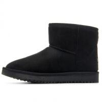 雪地靴女2018冬季新款一脚蹬保暖靴子加绒加厚短筒防滑棉鞋子短靴