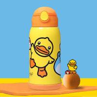 face宝宝水杯儿童保温杯316不锈钢婴儿学饮杯小黄鸭学生吸管水壶
