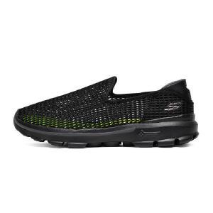 【11月12-13日大牌返场 狂欢继续】Skechers斯凯奇男鞋新款一脚套 大网眼镂空网布运动鞋 6666002