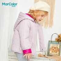 【清仓特价:80】巴拉巴拉旗下马卡乐冬季女宝宝星星刺绣花边口袋短款