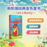 包邮进口英文原版正版 I Am a Bunny 我是小兔子 Little Golden Book金色童书系列纸板书Ri
