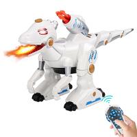 仿真动物喷火电动战龙机器人男孩恐龙玩具儿童遥控霸王龙