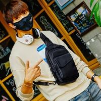 新款胸包潮男韩版休闲斜挎包运动背包小单肩包男士包多功能