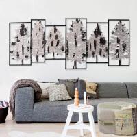 北欧墙饰铁艺壁饰欧式创意客厅沙发背景墙装饰品墙上家居饰品礼物